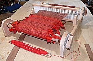 裂き織り機